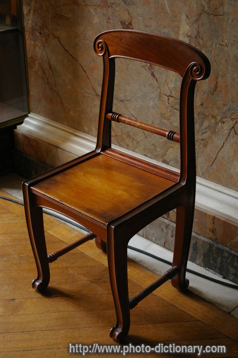 chair photo picture definition at Dictionary