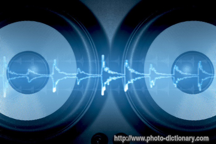 Sound Wave Photo Picture Definition At Photo Dictionary