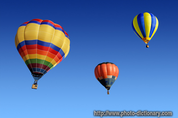 air baloons - photo/picture definition at Photo Dictionary - air