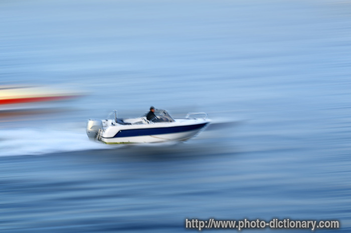 motorboat - photo/picture definition at Photo Dictionary - motorboat ...