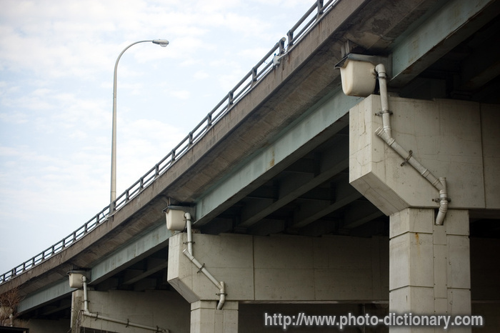 Highway Bridge Photo Picture Definition At Photo