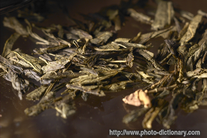 Tea Leaves Picture