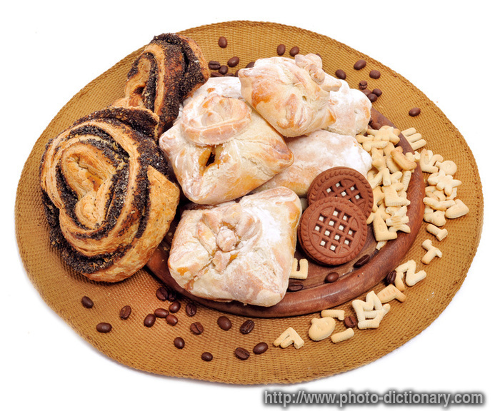 bakery - photo\/picture definition at Photo Dictionary - bakery word and phrase defined by its