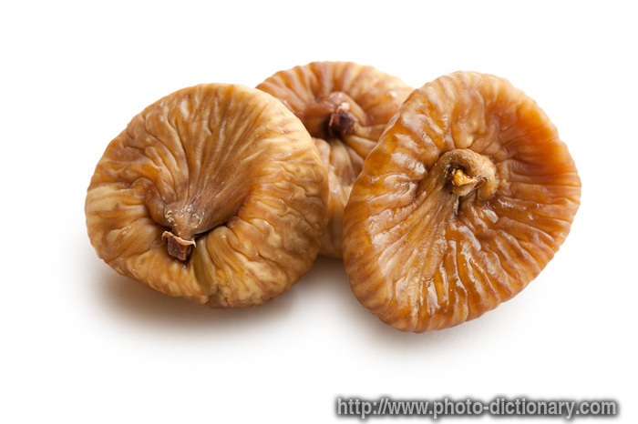 dried figs - photo/picture definition at Photo Dictionary - dried figs ...
