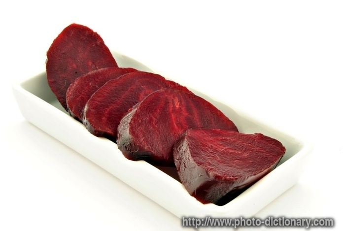 how to cook sliced beets