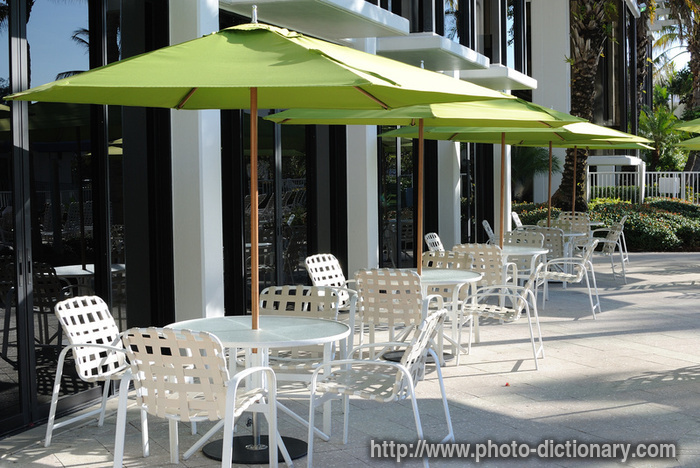 patio deck furniture - photo/picture definition at Photo ...