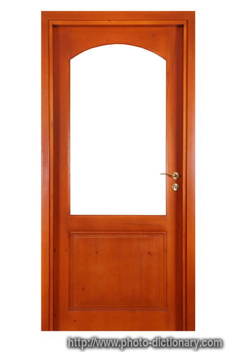 door - photo/picture definition - door word and phrase image