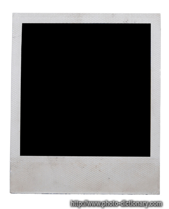 Polaroid - Photo/Picture Definition At Photo Dictionary - Polaroid