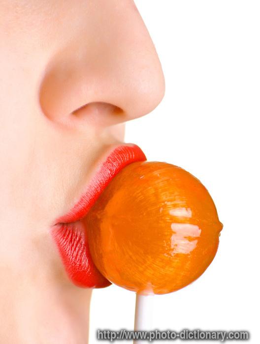 lollipop - photo/picture definition - lollipop word and phrase image
