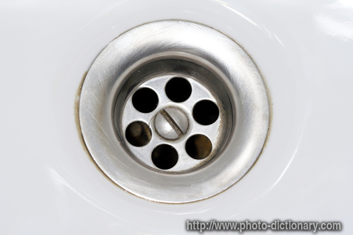 drain photo picture definition at photo dictionary drain word