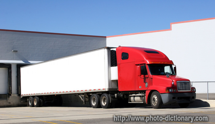 trailer - photo/picture definition - trailer word and phrase image
