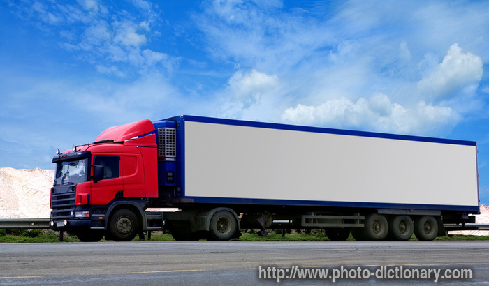 Trailer  Picture Definition At Photo Dictionary