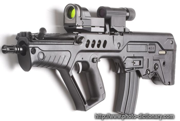 dictionary the machine gun