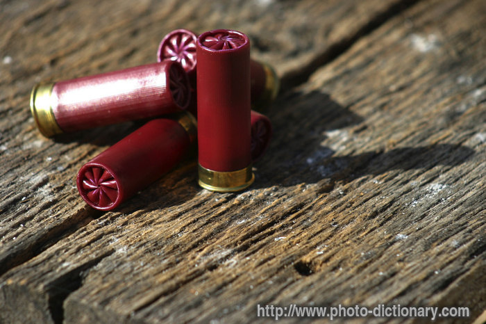 shotgun shell background -#main