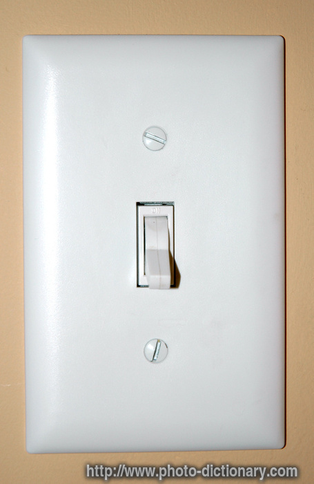 Light Switch Photo Picture Definition At Photo
