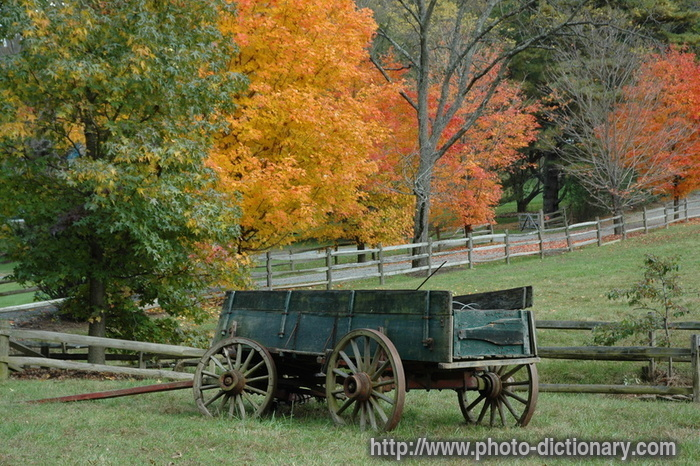 wagon - photo/picture definition at Photo Dictionary - wagon