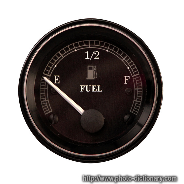 Fuel Gauge  Picture Definition At Photo Dictionary
