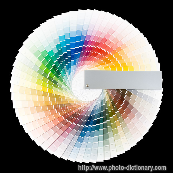 Color Wheel Photo Picture Definition At Photo Dictionary