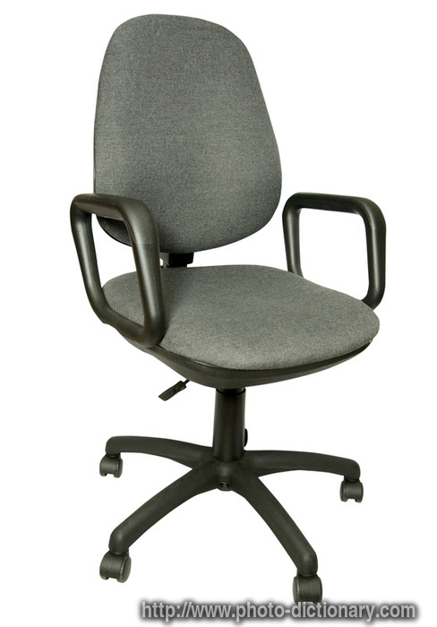 office chair photo picture definition at