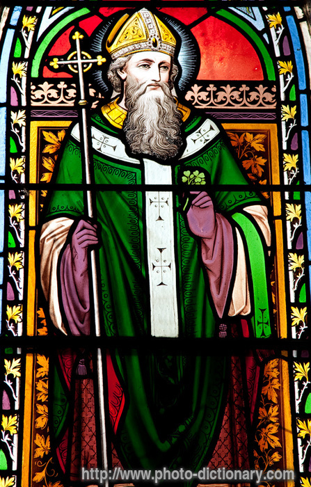 SAINT PATRICK - photo/picture definition at Photo Dictionary ...