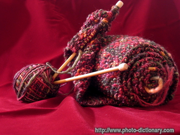 Knitting Meaning : Knitting photo picture definition at dictionary