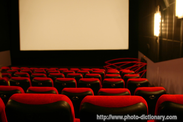 CINEMA - photo/picture definition at Photo Dictionary - CINEMA ...