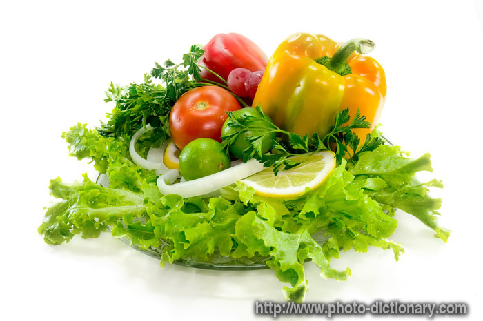Vegetables - Photo/picture Definition At Photo Dictionary ...