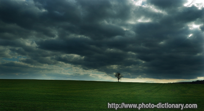Overcast  Picture Definition At Photo Dictionary