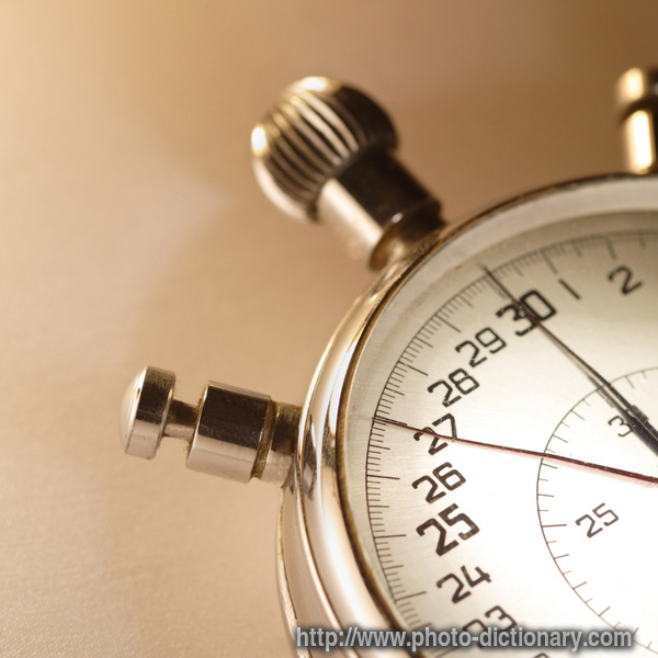 Stop Watch Photo Picture Definition At Photo Dictionary