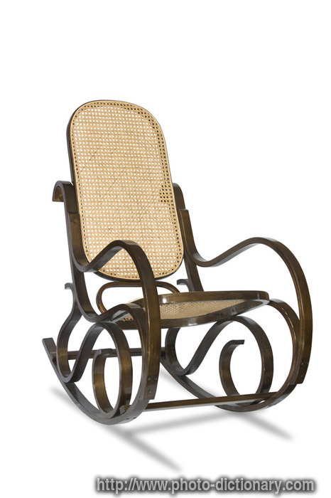 rocking chair photo picture definition at