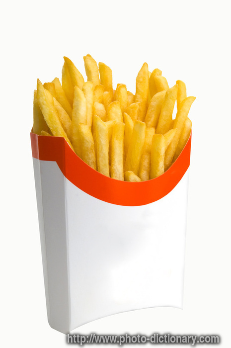 French Fries - photo/picture definition - French Fries word and phrase ...