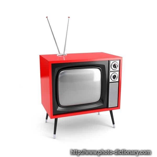 retro TV - photo/picture definition at Photo Dictionary ...