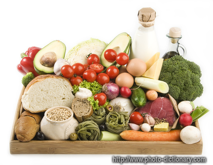 Healthy food photo picture definition at photo - Meaning of cuisine in english ...