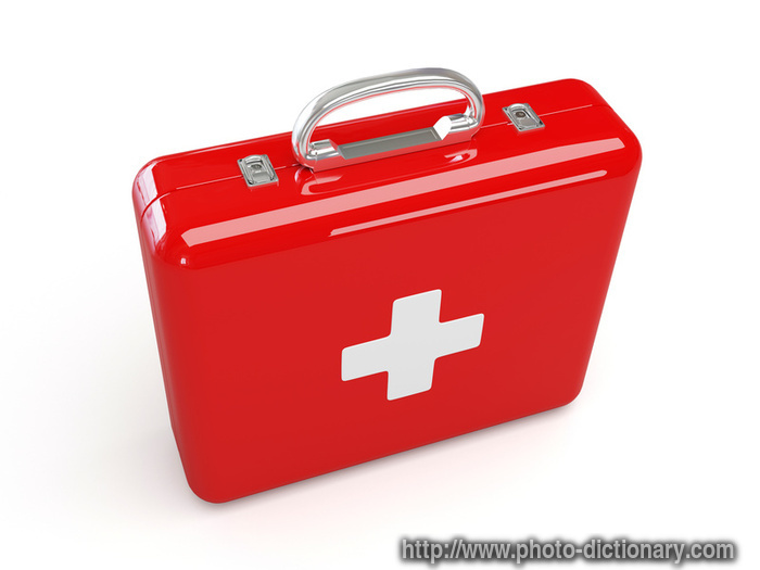 first aid kit - photo/picture definition - first aid kit word and ...
