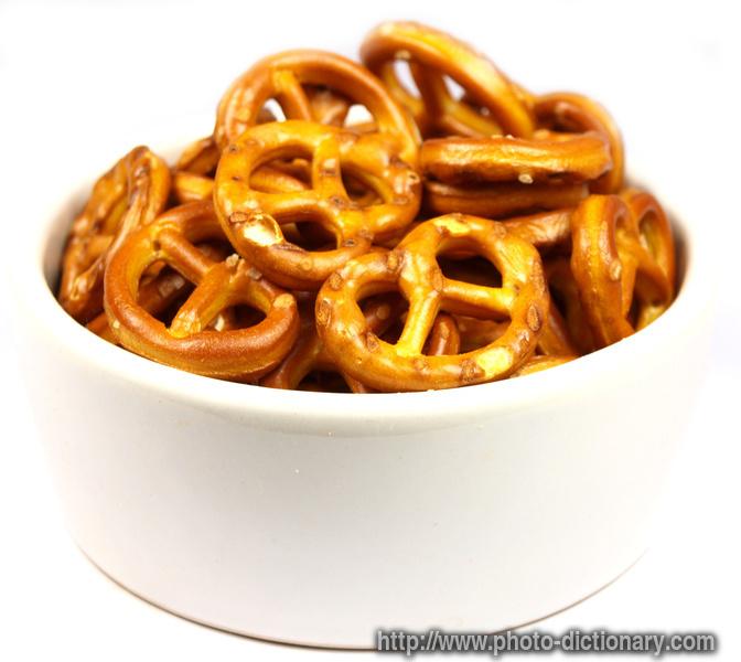pretzels - photo/picture definition at Photo Dictionary - pretzels ...