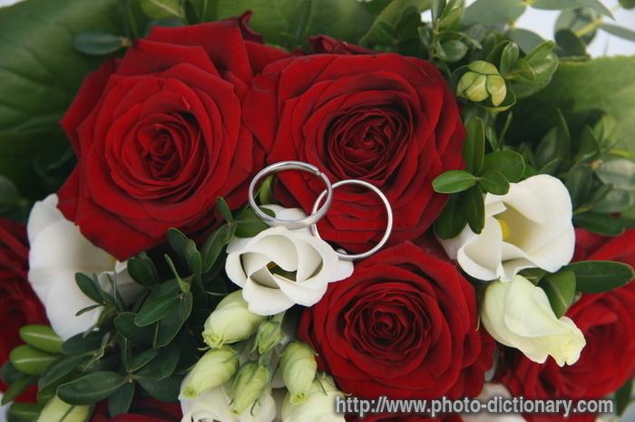 Wedding Bouquet Definition : Bridal bouquet photo picture definition at