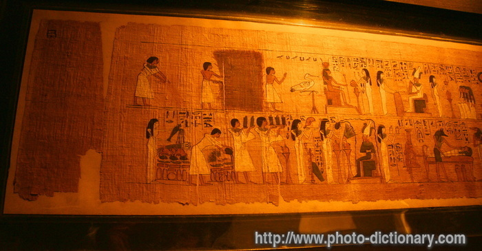 papyrus - photo/picture definition at Photo Dictionary ...