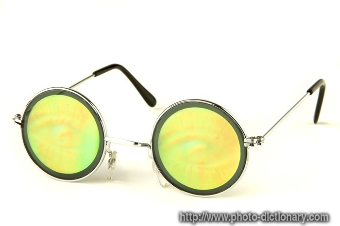 Eyeglass Frames Define : hippie glasses - photo/picture definition at Photo ...