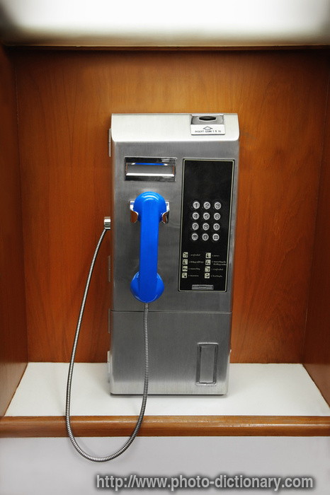 Public Phone Photo Picture Definition At Photo Dictionary Public Phone Word And Phrase