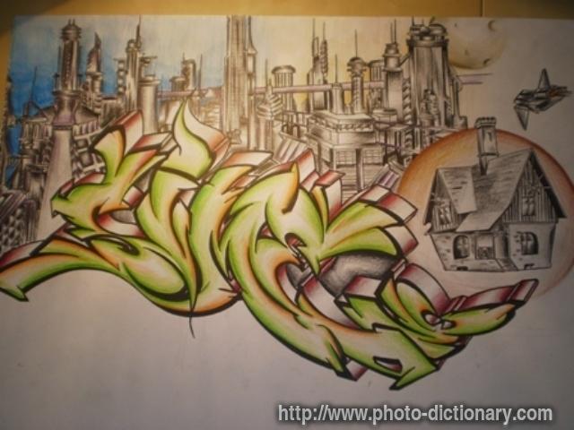 graffiti definition the dictionary of art auto design tech