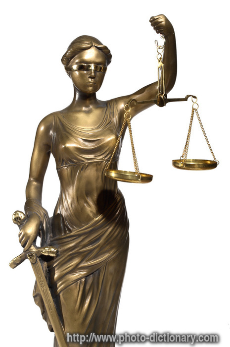 Lady Of Justice Photo Picture Definition At Photo