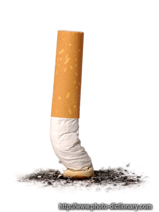 Iso Meaning Photography >> cigarette - photo/picture definition at Photo Dictionary - cigarette word and phrase defined by ...