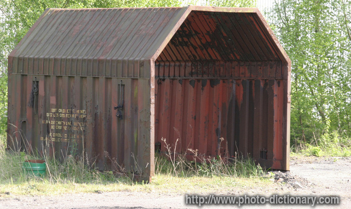 shed - photo  picture definition at photo dictionary