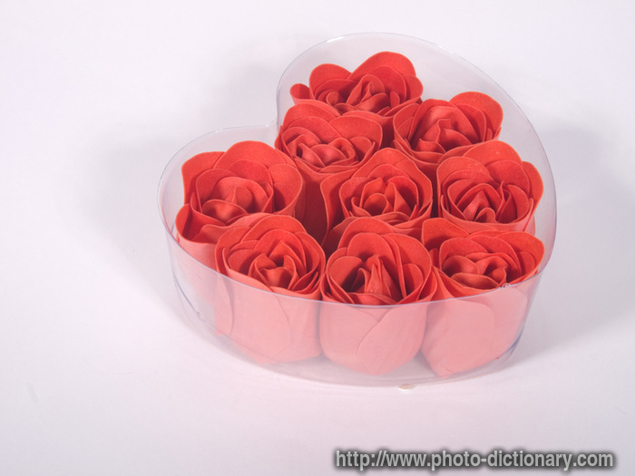 pastry roses - photo\/picture definition at Photo Dictionary - pastry roses word and phrase