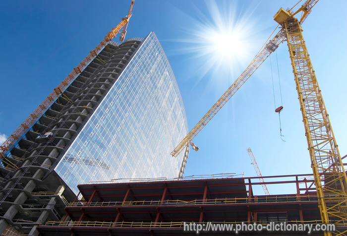 Construction site photo picture definition at photo for Definition construction