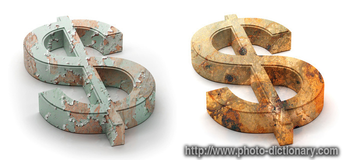 Dollar Symbol Photopicture Definition At Photo Dictionary