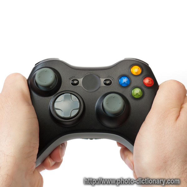 gaming pad photopicture definition at photo dictionary