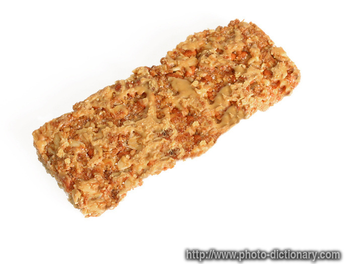 granola bar - photo/picture definition - granola bar word and phrase ...