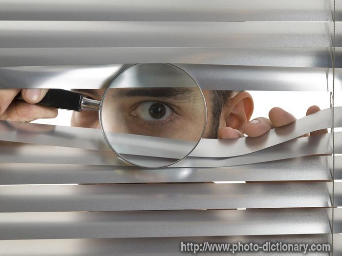 peeping dan meaning