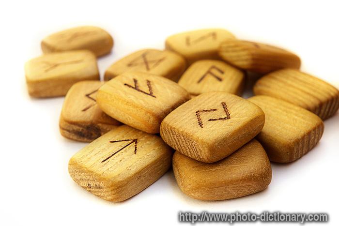 Scandinavian runes photo picture definition at photo for Define scandinavian